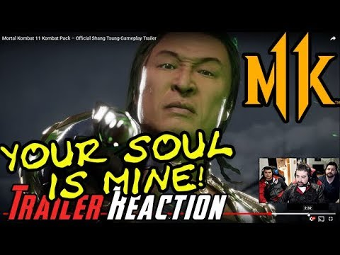 MK11 - Shang Tsung DLC Reveal Trailer - Angry Reaction