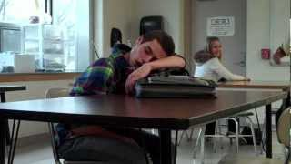 Teacher pranks sleeping student