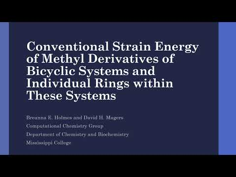 Strain Energy of Methyl Derivatives of Bicyclic Systems