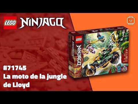 Vidéo LEGO Ninjago 71745 : La moto de la jungle de Lloyd