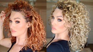 HOW I REVIVE MY CURLS AND MAKE THEM TIGHTER | The Glam Belle