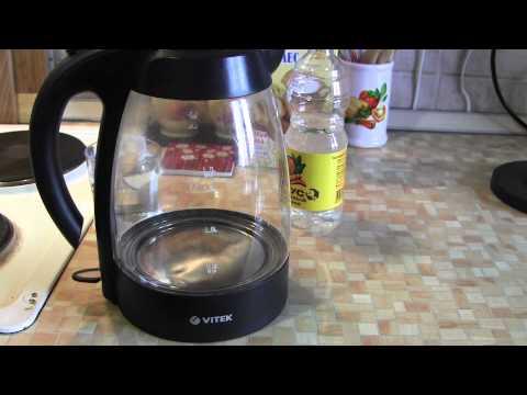 Чистим чайник от накипи с помощью уксуса