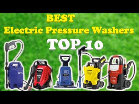Top 10 Best Electric Pressure Washers 2018