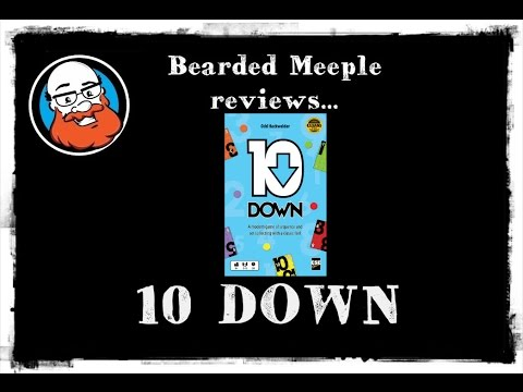 Bearded Meeple reviews 10 Down