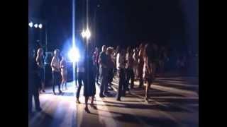 Balli durante la serata Festa di Colle Cagioli 20 luglio 2012
