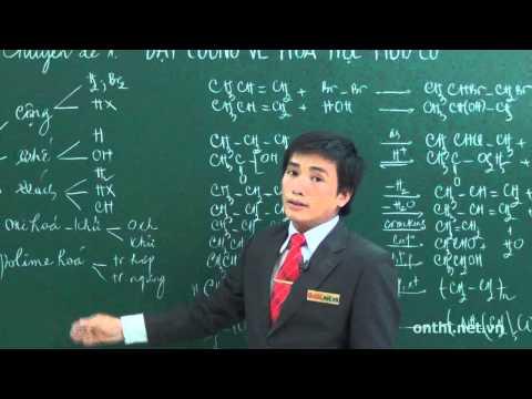 Bài 1-Đại cương về hóa hữu cơ