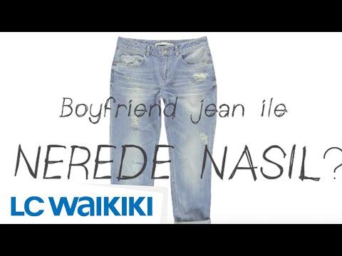 Tek Parçayla 5 Ayrı Stil: Boyfriend  Jean