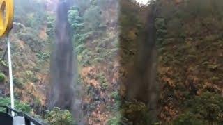 Fenomena Air Terjun Sedudo Nganjuk Berubah jadi Hitam Pekat, Pengunjung Dilarang Mandi