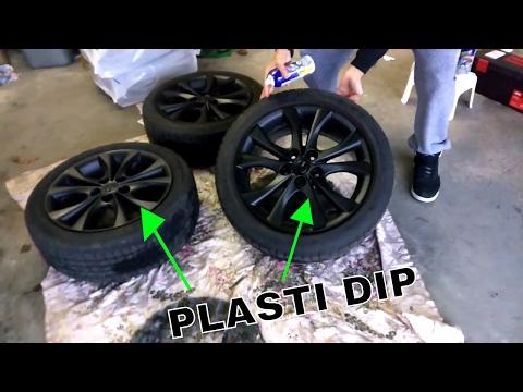 Mazda3 Plasti Dip Rims