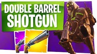 The NEW Double Barrel Shotgun! - Fortnite Battle Royale New Shotgun Gameplay