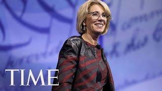 Education Secretary Betsy DeVos Said Old Transgender Guidelines Were