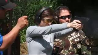 Anne Curtis Trains with Philippine Scout Rangers for Buy Bust