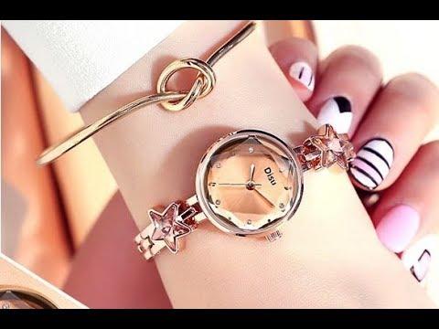 Стильные женские часы Disu