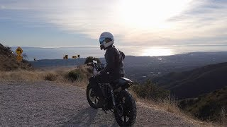 A Dreamy Sunset Motorcycle Ride | Santa Barbara, CA