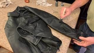 Leather Jacket Restoration: Faded Color / DIY