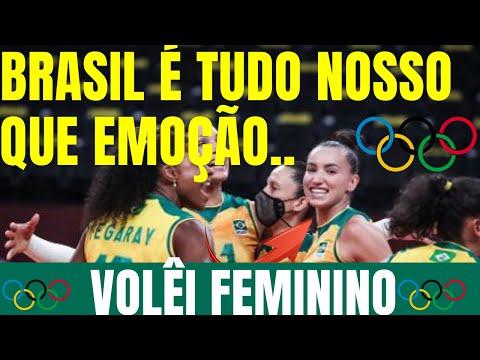 VLEI FEMININO Brasil x Russia | Vlei Olimpadas 2021 RESULTADO JOGO EMOCIONANTE!