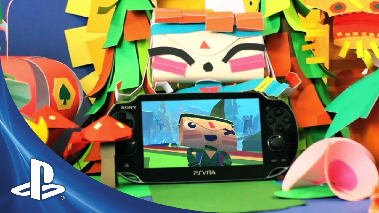 Tearaway Arrives This Friday on PS Vita, Watch the Launch Trailer