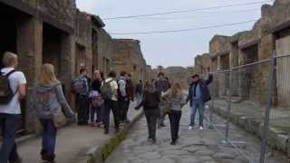 preview picture of video '世界ふれあい食べ歩き イタリア ポンペイ編 World traveling  Italy'
