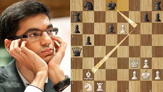 Anish Giri's 25 move Brilliancy Against Morozevich