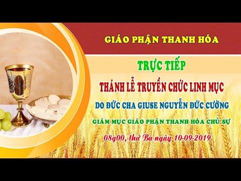 video thanh le truyen chuc linh muc 10.09.2019