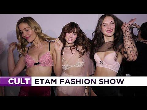 Η γιορτή για τα 100 χρόνια των εσωρούχων ETAM στην Εβδομάδα Μόδας στο Παρίσι – le mag