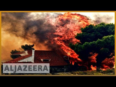 🇬🇷 Greece wildfires: Dozens killed near Athens, officials say | Al Jazeera English