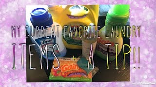 My Current Favorite Laundry Supplies + A Laundry Tip + Product Review