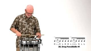 Drag Paradiddle 1