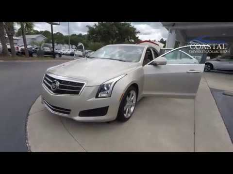 Pre-Owned 2014 Cadillac ATS 4dr Sdn 2.5L Luxury RWD