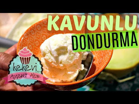 Kavunlu Dondurma Tarifi (4 Malzeme İle) / Ayşenur Altan Yemek Tarifleri