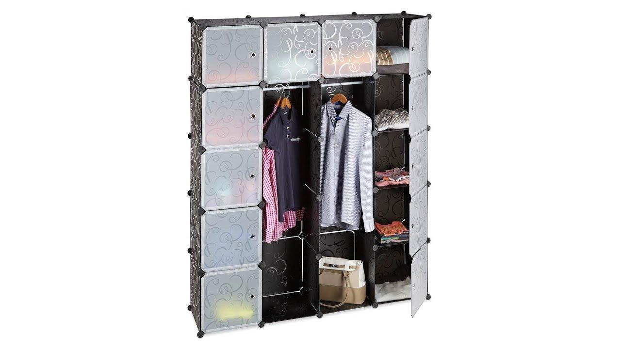 Video von: Kleiderschrank Stecksystem 14 Fächer