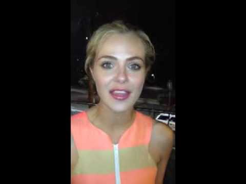 Jessica Marais Selfie for REELise