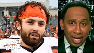 Stephen A. names the Browns and Bucs as the NFL's most improved teams   First Take