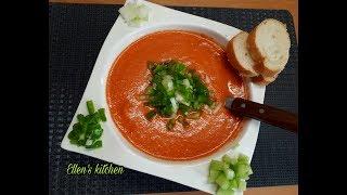 Гаспачо очень вкусный суп ''Gaspacho muy facil y rico'' '' Իսպանական ապուր Գասպաչո''