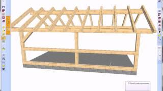 WoodCon - Projekt altany drewnianej