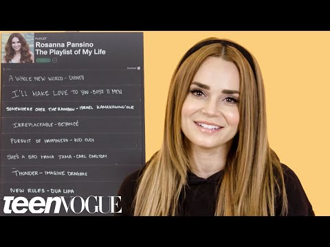 Rosanna Pansino Creates the Playlist of Her Life | Teen Vogue