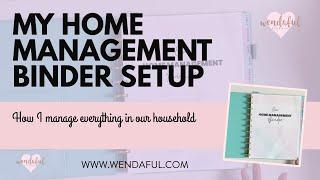 Home Management Binder Flip Through