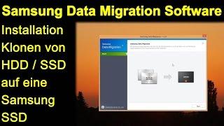 Samsung Data Migration Software - Installation, Klonen von HDD Windows 8 auf Samsung Evo 850 SSD