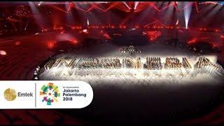 Marching Band Menutup Pesta Olahraga Asian Games 2018