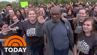 Al And The Rokerthon 2 Team Receive Police Escort Into Illinois | TODAY
