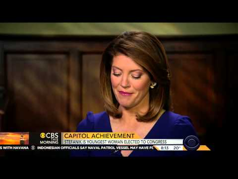 Elise Stefanik Interview w/ Norah O'Donnell on CBS News