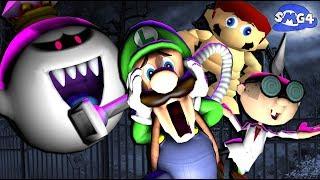SMG4: Stupid Luigi's Mansion