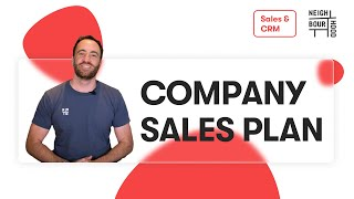How to Develop a Company Sales Strategy & Marketing Strategy Plan for Your Business