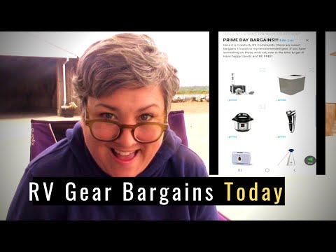RV Gear Bargains Today! My Recommended Gear and Gadgets for Full-Time RV Life are ON SALE!