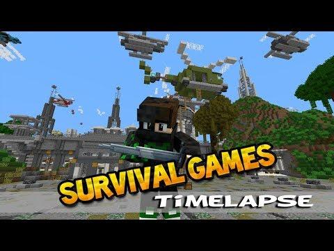 Minecraft - Survival Games Timelapse [ žádný team jen jsem mu pomohl ]