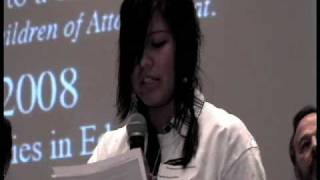 Attawapiskat Youth Forum - Serena Koostachin