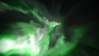 Die besten 100 Videos Extreme Nordlichter in Echtzeit - northern lights superstorm, real time video