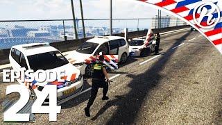 [GTA5] GESTOLEN POLITIE AUTO ACHTERVOLGING!! - Royalistiq | Nederlandse Politie #24 (LSPDFR 0.31)