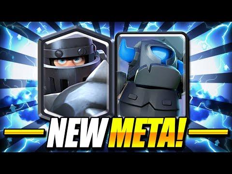 UNBELIEVABLE NEW META COMBO!! MEGA KNIGHT + MINI PEKKA IS INSANE! - Clash Royale