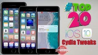 Top 5 cydia tweaks for iOS 9 3 5  Phoenix jailbreak  - Видео